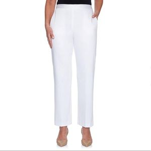 Plus Size High Rise Waist Pull On Casual Pants